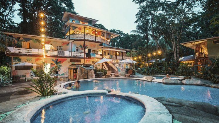 Außenansicht Hotel in Puerto Viejo. Bid: Selina