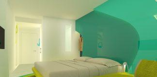 Futuristisch und extravagant werden die Zimmer anmuten. Bild: Prize Holding GmbH