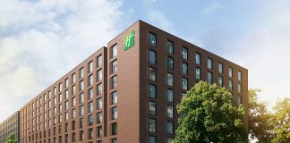 Das Holiday Inn Hamburg Mitte. Bild: Gorgeous Smiling Hotels GmbH
