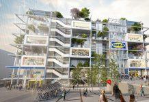Rendering des Neubaus am Wiener Westbahnhof. Bild: Zoom Visual Project Gmbh