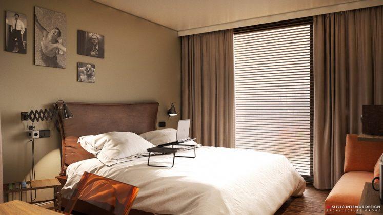 Zimmeransicht des Me and All Hannover. Bild: A. Wellander/Me and All Hotels