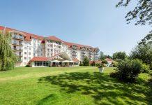 Außenansicht des Best Western Plus Parkhotel Maximilian Ottobeuren. Bild: Best Western