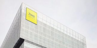 Außenansicht des Zleep Hotel Madrid Airport. Bild: Steigenberger Hotels AG/Ridasame SL
