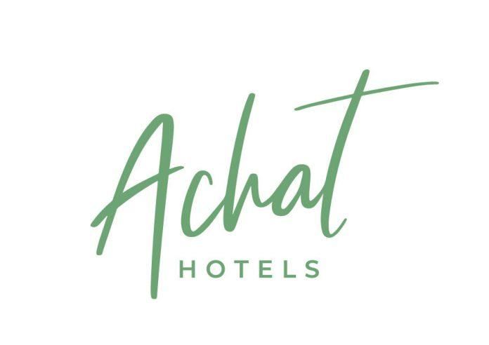 Das neue Logo von Achat Hotels.