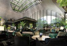 Die Lobby im Sindhorn Kempinski Hotel Bangkok. Bild: Kempinski Hotels