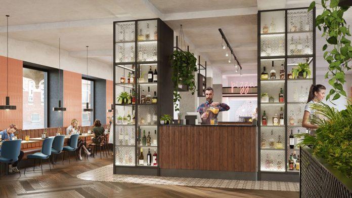 Visualisierung des offenen Bereichs. Bild: Vienna House