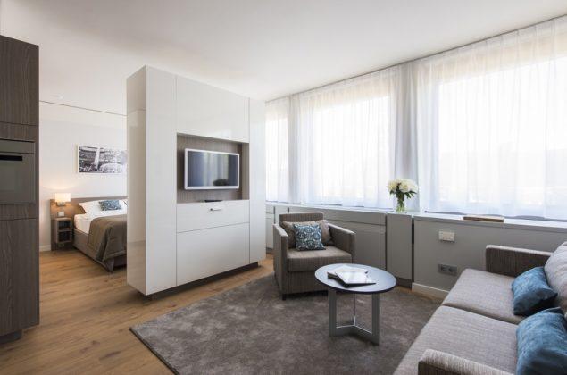 Die Räume in Frankfurt sind unterschiedlich groß. Bild: H. Kreft