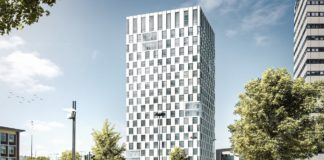 Visualisierung des City-Tower-BO. Bild: Gerber Architekten