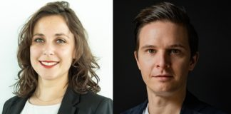 Die beiden neuen Mitglieder der Geschäftsführung. Bild: Boeken (privat)/Simm (Ruby Hotels)