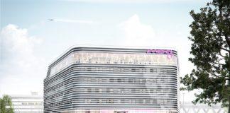 Visualisierung Moxy Köln Bonn Airport. Bild: Art-Invest Real Estate