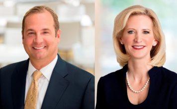 CEO A. Capuano und Präsidentin S. Linnartz. Bild: Marriott