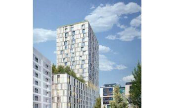 Rendering des Stuttgarter Hotelturms. Bild: RKW Architektur+