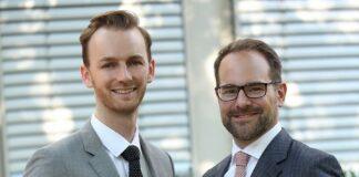 Michael Lidl und Moritz Dietl. Bild: Treugast Solutions Group