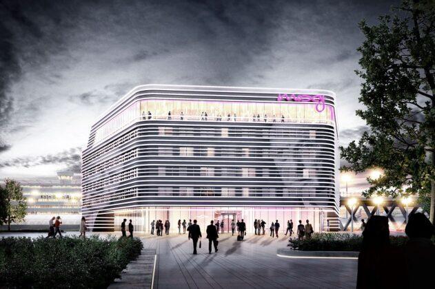 Außenansicht des neuen Moxy am Flughafen Köln/Bonn. Bild: AI MXY Hotel Operations