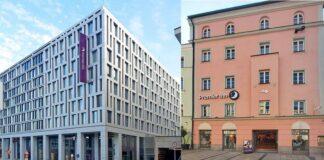 Premier Inn eröffnete in Stuttgart (links) und Passau jeweils ein neues Haus. Bilder: Premier Inn Deutschland