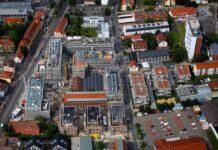 Überblick über das Sartorius Quartier im August 2021. Bild: S. Rampfel, Gö-Flug/Hamburg Team