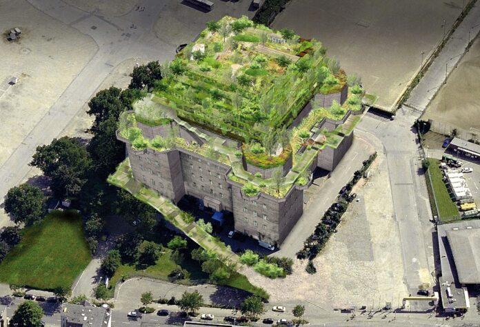 Bunker St. Pauli. Bild: Planungsbüro Bunker