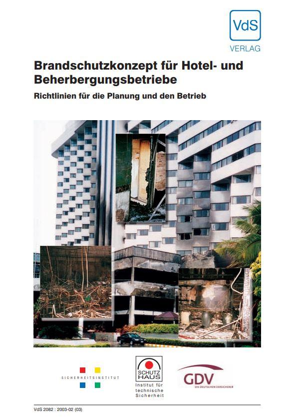 Brandschutzkonzept für Hotel- und Beherbergungsbetriebe (VdS)
