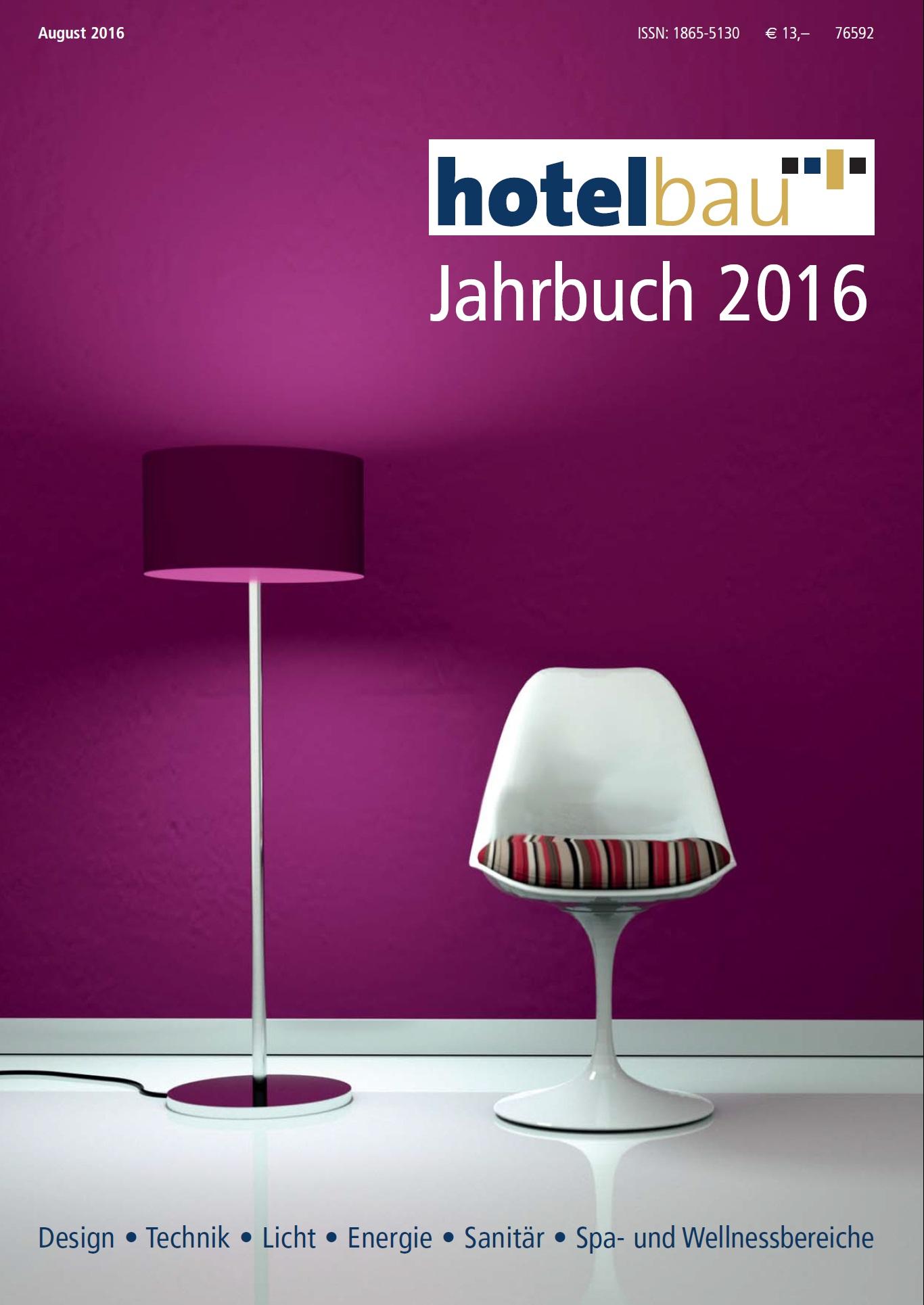 Hotelbau Jahrbuch 2016 (Zip)