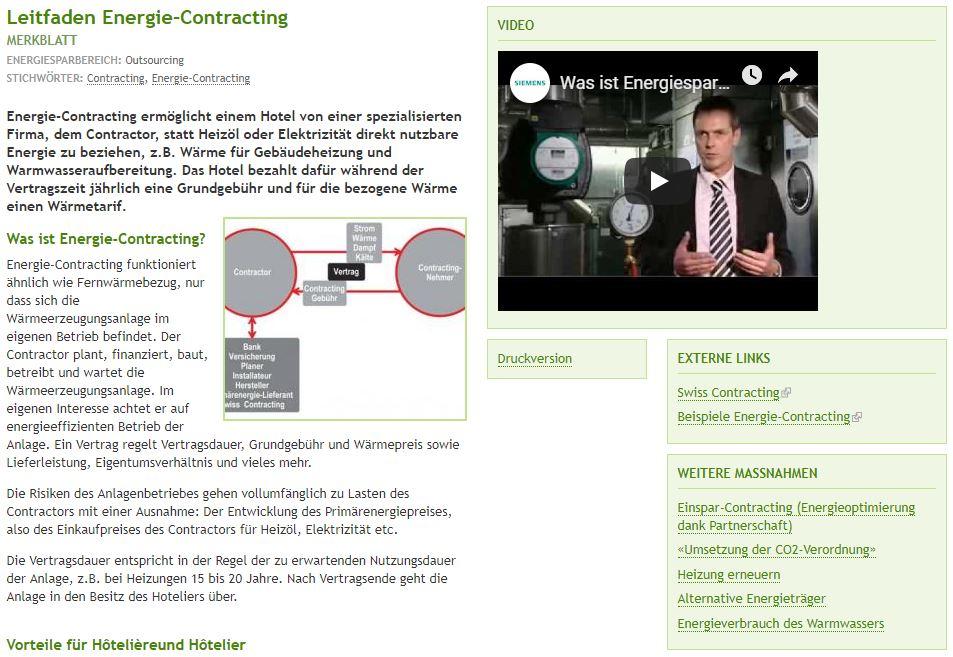 """Link zum """"Leitfaden Energie-Contracting"""""""