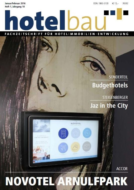 Artikel Jaz in the City Amsterdam aus der hotelbau 1/2016