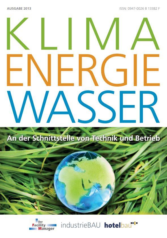 """Sonderheft """"Klima Energie Wasser"""" als PDF"""
