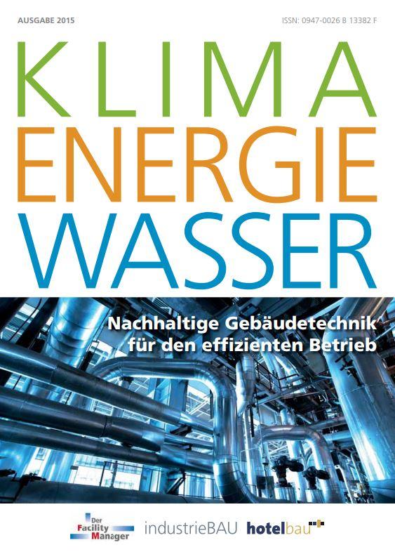 """Sonderheft """"Klima Energie Wasser"""" 2015 als PDF"""