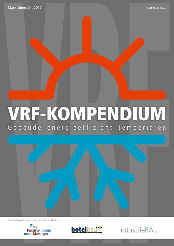 Kompendium mit der Anbieter-Übersicht VRF-Systeme