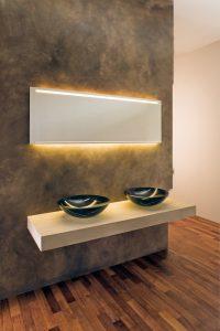Minetti Spiegel und Leuchten für Hotels