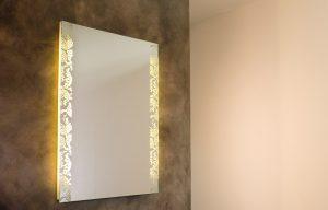 Hoteleinrichtung Spiegel und Licht